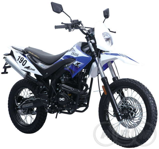 Мотоцикл ABM Мотард ZR 200