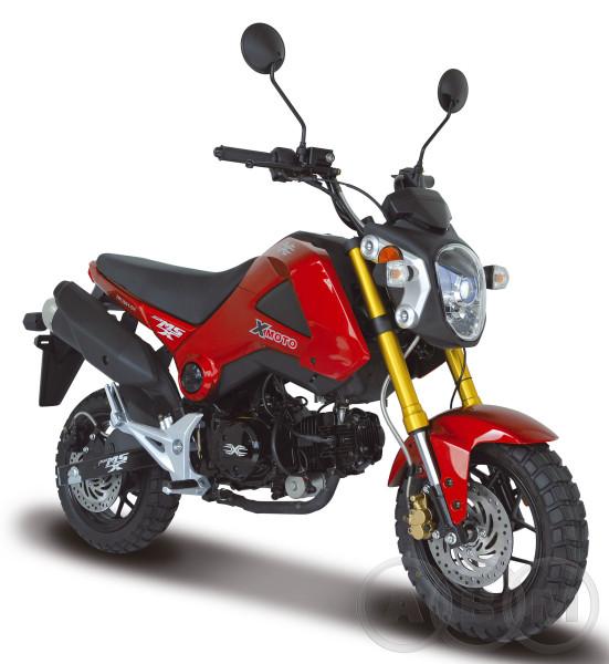 Мотоцикл ABM MSX 125