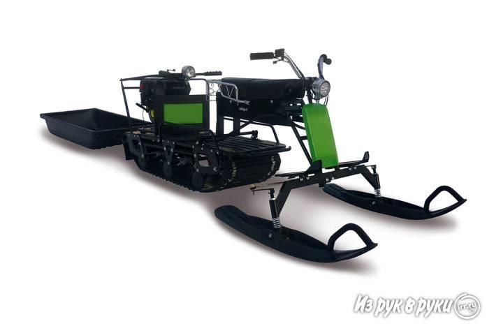 LADOGA 9 с лыжным модулем