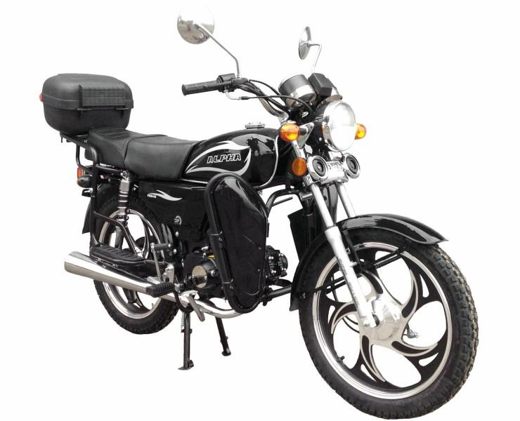 Мопед ZIP MOTORS ALPHA LUX FK50-C9100